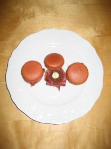 Macaron magret de canard fumé - purée de marron dans Macarons salés IMG_4313-225x300