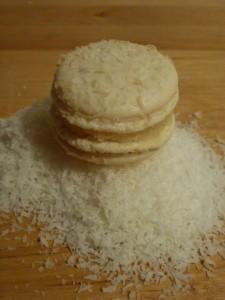 Macaron à la noix de coco dans Macarons sucrés p1000627-225x300