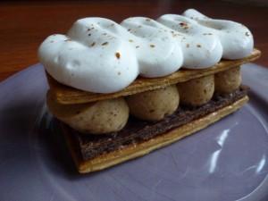 Mille-feuille au praliné et chantilly vanillée dans Gourmandises p1010502-300x225